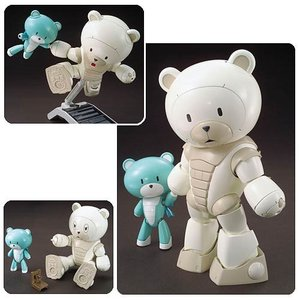 ガンダム バンダイ Bandai Hobby Gunpla Gundam Build Fighters Try Beargguy F (Family) High Grade 1:144 Scale Model Kit|fermart-hobby