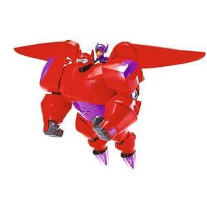 ベイマックス Big Hero 6 可動式フィギュア TV Series Flame-Blast Flying Baymax Action Figure|fermart-hobby