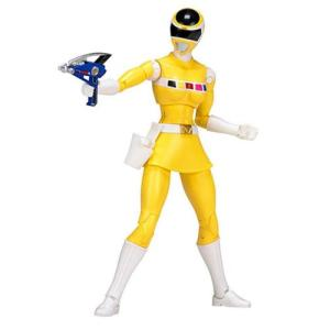パワーレンジャー Power Rangers 可動式フィギュア In Space Legacy Yellow Ranger Action Figure|fermart-hobby