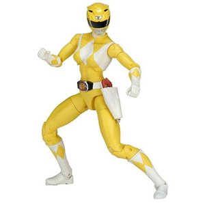 パワーレンジャー Power Rangers 可動式フィギュア Mighty Morphin Legacy Yellow Ranger Action Figure|fermart-hobby