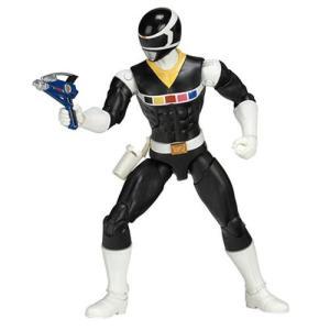 パワーレンジャー Power Rangers 可動式フィギュア In Space Legacy Black Ranger Action Figure|fermart-hobby