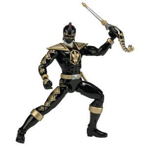 パワーレンジャー Power Rangers 可動式フィギュア Dino Thunder Legacy Black Ranger Action Figure|fermart-hobby