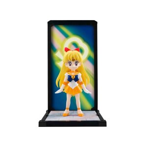 セーラームーン 美少女戦士セーラームーン バンダイ Bandai Tamashii Nations Sailor Moon Sailor Venus Tamashii Buddies Mini-Statue|fermart-hobby