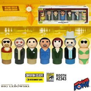 ビッグ リボウスキ ビフバンパウ Bif Bang Pow! The Big Lebowski Pin Mate Wooden Figure Set of 7 - Convention Exclusive|fermart-hobby
