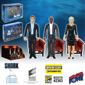 シャーク タンク Shark Tank Mark Cuban, Daymond John, Barbara Corcoran 3 3/4-Inch Action Figure Set of 3 - Convention Exclusive|fermart-hobby