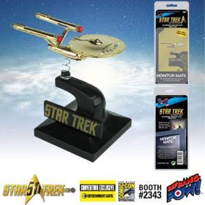 スター・トレック Star Trek: The Original Series 24kt Gold Plated Enterprise Monitor Mate - Convention Exclusive|fermart-hobby