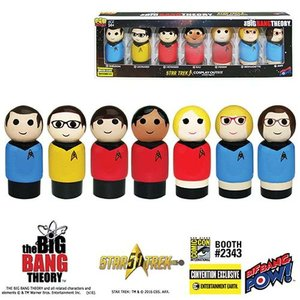 ビッグバン セオリー Big Bang Theory フィギュア The / Star Trek: The Original Series Pin Mate Wooden Figure Set of 7 - Convention Exclusive|fermart-hobby