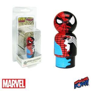 スパイダーマン Spider-Man フィギュア /Venom Dual Identity Pin Mate Wooden Figure fermart-hobby