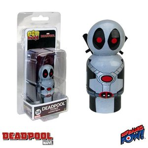 デッドプール Deadpool フィギュア X-Force Costume Pin Mate Wooden Figure|fermart-hobby