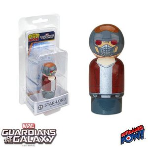 ガーディアンズ オブ ギャラクシー Guardians of the Galaxy フィギュア Star-Lord Pin Mate Wooden Figure|fermart-hobby