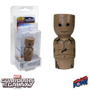 ガーディアンズ オブ ギャラクシー Guardians of the Galaxy フィギュア Groot Pin Mate Wooden Figure|fermart-hobby