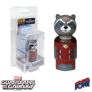 ガーディアンズ オブ ギャラクシー Guardians of the Galaxy フィギュア Rocket Raccoon Pin Mate Wooden Figure|fermart-hobby