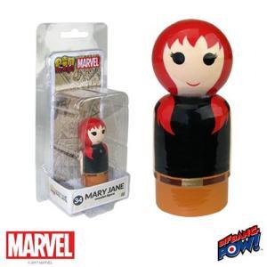 スパイダーマン Spider-Man フィギュア Mary Jane Pin Mate Wooden Figure fermart-hobby