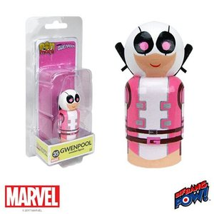 デッドプール Deadpool フィギュア Gwenpool Pin Mate Wooden Figure|fermart-hobby