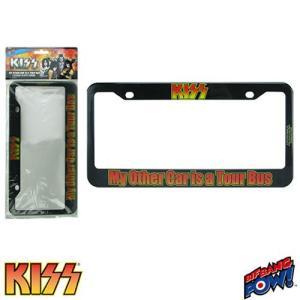 キッス KISS グッズ My Other Car is a Tour Bus License Plate Frame|fermart-hobby
