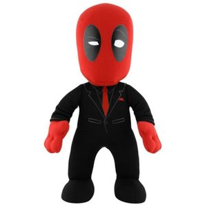 デッドプール ブリーチャークリーチャー Bleacher Creatures Deadpool Suited Deadpool 10-Inch Plush Figure|fermart-hobby