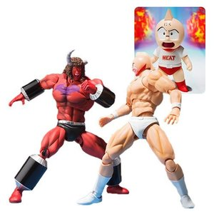 キン肉マン Kinnikuman 可動式フィギュア Buffalo Man SH Figuarts Action Figure|fermart-hobby