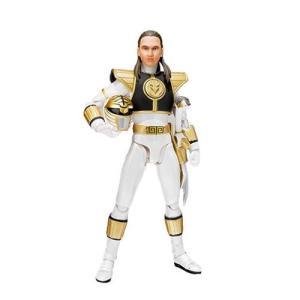 パワーレンジャー Power Rangers 可動式フィギュア Mighty Morphin White Ranger SH Figuarts Action Figure|fermart-hobby