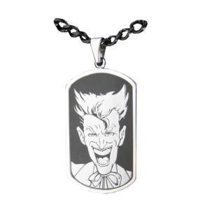 バットマン ボディーヴァイブ Body Vibe Batman Joker Face Dog Tag and Chain Necklace|fermart-hobby