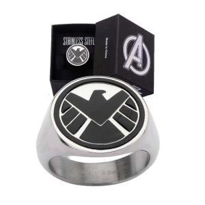 エージェント オブ シールド ボディーヴァイブ Body Vibe Agents of S.H.I.E.L.D. Logo Ring|fermart-hobby