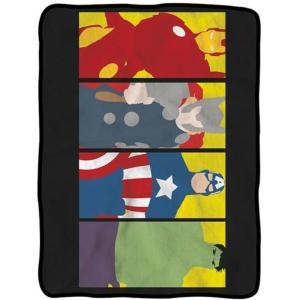 アベンジャーズ サーリアルエンターテインメント サーリアル Surreal Entertainment Avengers Minimalist Art Fleece Throw Blanket|fermart-hobby
