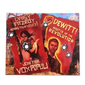 バイオショック Bioshock グッズ Vox Revolution Tin Sign|fermart-hobby