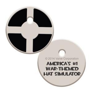 チーム フォートレス コープ The Coop Team Fortress 2 Emblem Keycap Key Cover|fermart-hobby