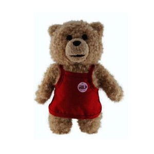 テッド コモン ウェルス Commonwealth Ted in Apron 8-Inch Talking Plush Teddy Bear|fermart-hobby