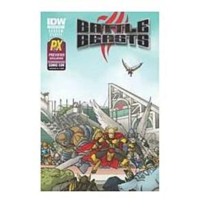 バトル ビースト アイディーダブルパブリッシング IDWパブリッシング Idw Publishing Battle Beasts #1 SDCC 2012 Exclusive Edition Comic Book|fermart-hobby