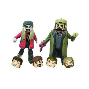 ジェイ&サイレント・ボブ ダイアモンド セレクト Diamond Select Jay and Silent Bob Zombie Minimates 2-Pack|fermart-hobby
