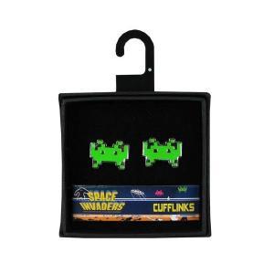 スペースインベーダー インベーダー フィフティー 50 Fifty Space Invaders Cufflinks Set|fermart-hobby