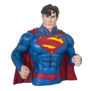 スーパーマン Superman グッズ The New 52 Bust Bank|fermart-hobby