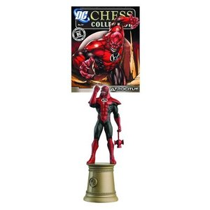 グリーンランタン DC Superhero Atrocitus Black Bishop Chess Piece with Magazine|fermart-hobby