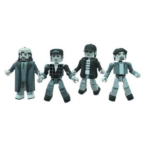 クラークス ダイアモンド セレクト Diamond Select Clerks 20th Anniversary Minimates Black and White Figure Set|fermart-hobby