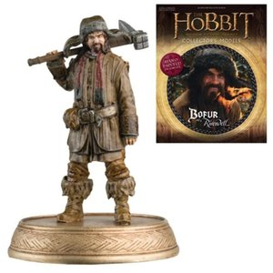 ロード オブ ザ リング The Hobbit Bofur the Dwarf Figure with Collector Magazine #13|fermart-hobby