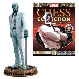 スパイダーマン Marvel Mr. Negative Black Pawn Chess Piece with Collector Magazine|fermart-hobby