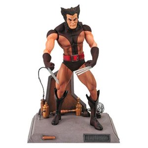 X-メン ダイアモンド セレクト Diamond Select X-Men Marvel Select Unmasked Wolverine Action Figure|fermart-hobby