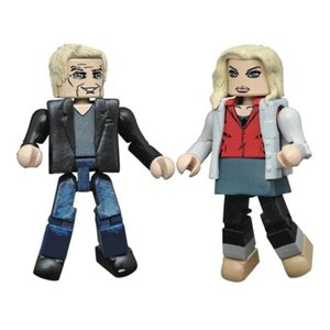 アイゾンビ ダイアモンド セレクト Diamond Select iZombie Liv and Blaine Minimates 2-Pack|fermart-hobby