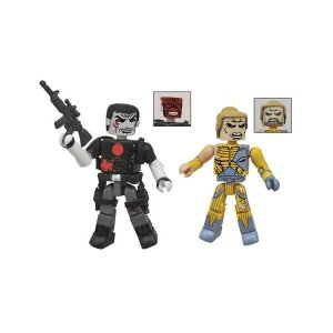 バリアントコミック ダイアモンド セレクト Diamond Select Valiant Bloodshot and X-O Manowar Minimates 2-Pack|fermart-hobby