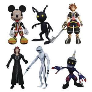 キングダム ハーツ Kingdom Hearts 可動式フィギュア Select Action Figure Series 1 Set fermart-hobby
