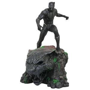 ブラックパンサー Black Panther 彫像・スタチュー Marvel Milestones Movie Resin Statue|fermart-hobby