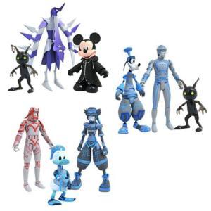 キングダム ハーツ Kingdom Hearts 可動式フィギュア Select Series 3 Action Figure Set fermart-hobby