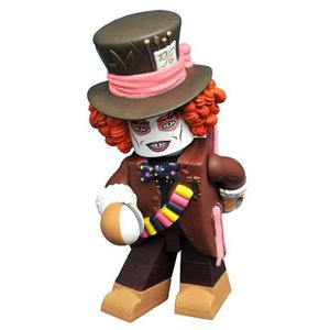 アリス イン ワンダーランド Alice in Wonderland フィギュア Alice Through the Looking Glass Hatter Vinimate Figure|fermart-hobby