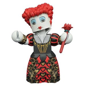 アリス イン ワンダーランド Alice in Wonderland フィギュア Alice Through the Looking Glass Red Queen Vinimate Figure|fermart-hobby