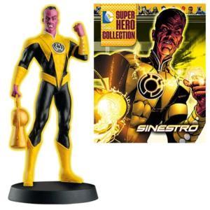 グリーンランタン イーグルモスパブリケーションズ イーグルモス Eaglemoss Publications DC Superhero Sinestro Best of Figure with Magazine #23|fermart-hobby