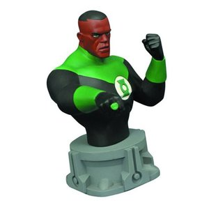 グリーンランタン Green Lantern グッズ Justice League: The Animated Series Bust|fermart-hobby