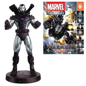 アイアンマン Iron Man 彫像・スタチュー Marvel Fact Files Special #24 War Machine Statue with Collector Magazine fermart-hobby