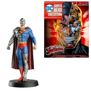 スーパーマン Superman 本・雑誌 DC Superhero Best Of Figure Cyborg with Collector Magazine #48|fermart-hobby