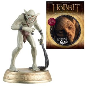 ロード オブ ザ リング The Hobbit Grinnah The Goblin Figure with Collector Magazine #20|fermart-hobby