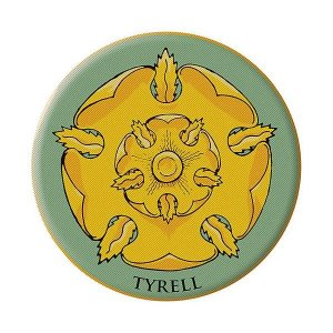 ゲーム・オブ・スローンズ ダークホース Dark Horse Game of Thrones House of Tyrell Embroidered Patch|fermart-hobby